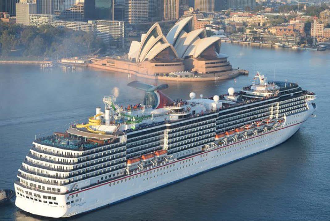 On Board Australia39s Largest Cruise Ship  Go55s
