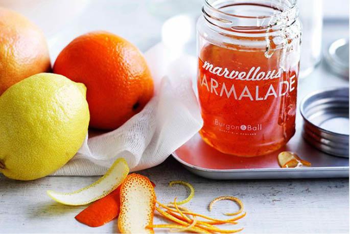 Blackberry Jam or Orange and Ruby Grapefruit Marmalade