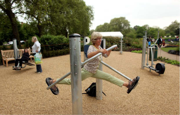 Playgrounds for Seniors