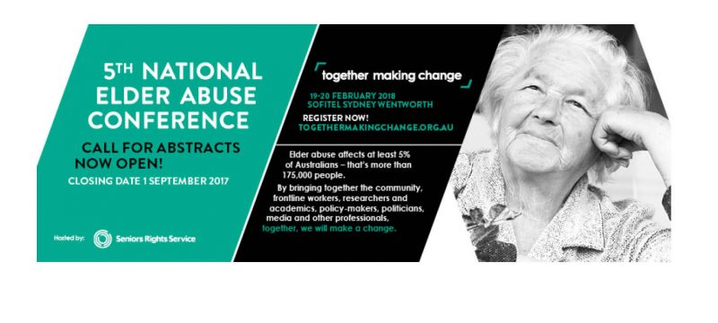 5th National Elder Abuse Conference, Sydney