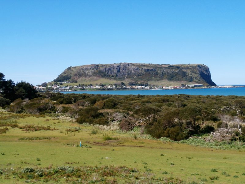 Tassie Icons Along A Rugged Coastline