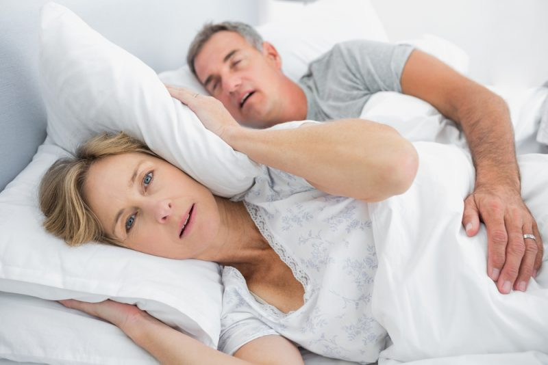 Snoring is sinister enough to lose sleep over