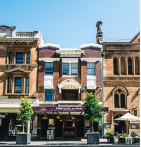 Sydney's Fortune of War hotel is one of Australia's oldest pubs.