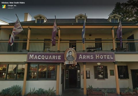 The Macquarie Arms Hotel is one of Australia's oldest pubs.