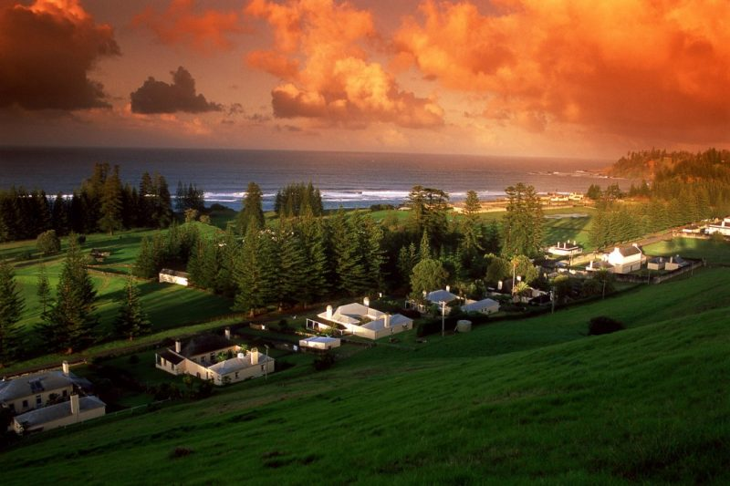 Norfolk Island but not as you may have known it