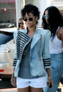 Military - jacket - Rihanna
