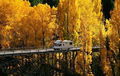 New Zealand during autumn