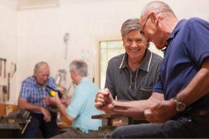 Building to better men's health