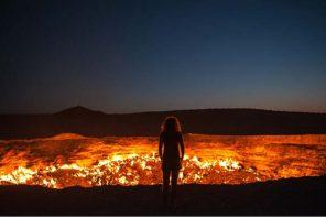 FEELING THE HEAT IN TURKMENISTAN