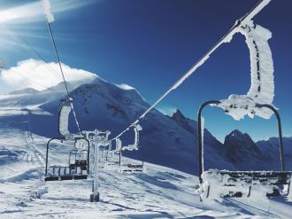 Ski holiday for seniors