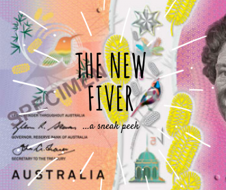 Australia's new five dollar note is more than meets the eye.