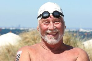 69 year old prepares to tackle treacherous English Channel Swim