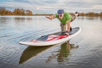 Stand Up Paddle Boarding for Seniors. Easy to learn, versatile and fun.