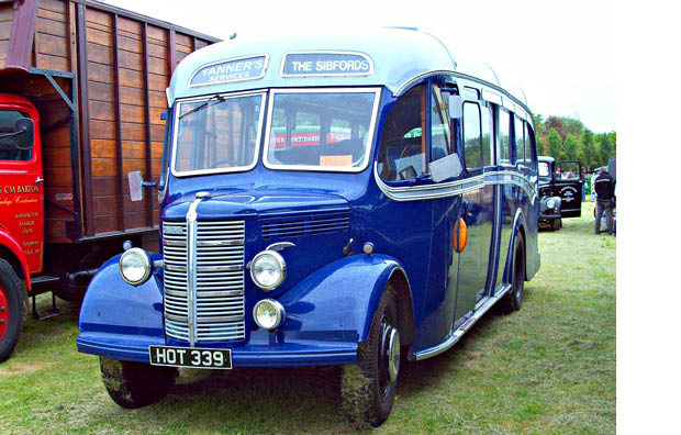 MAGICAL MYSTERY TOUR ON UNCLE TOM'S OLD BEDFORD BUS