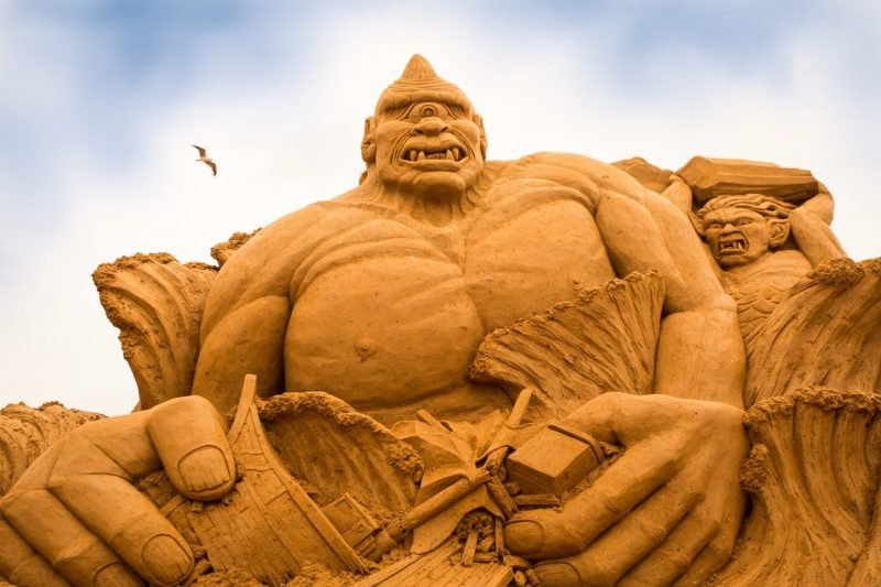 FROM AGRABAH TO THE PENINSULA – SAND SCULPTING AUSTRALIA REVEAL NEW THEME