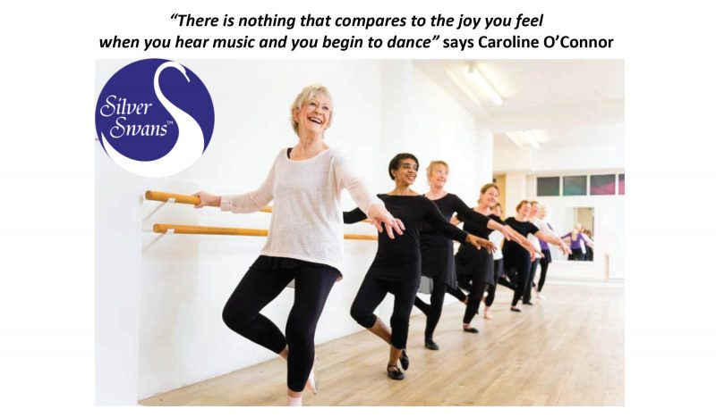 Over 55's new Silver Swans Ballet Class