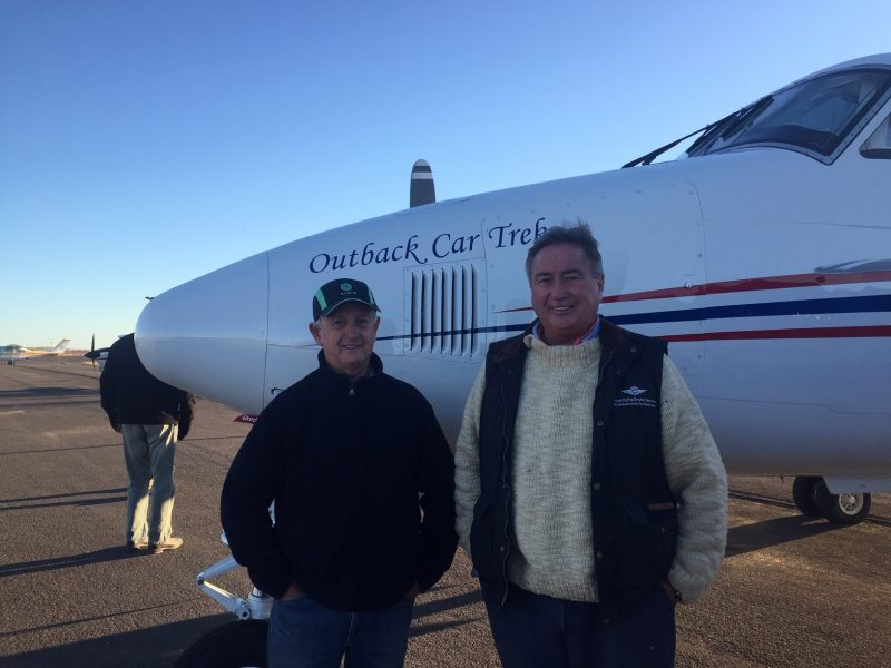 THE OUTBACK ODYSSEY THAT HELPS KEEP THE FLYING DOCTOR IN THE AIR