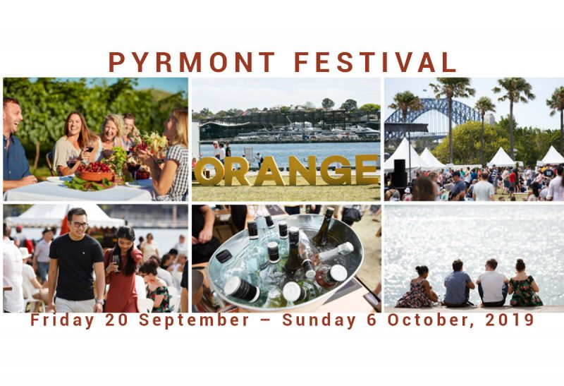 Pyrmont Festival returns with fine food and wine in the sunshine