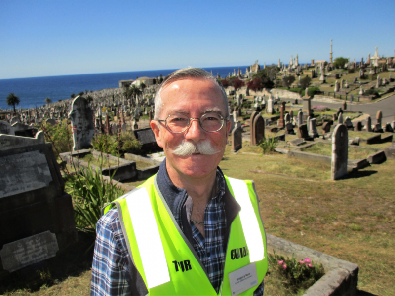For Greg, Local History is a Buried Treasure
