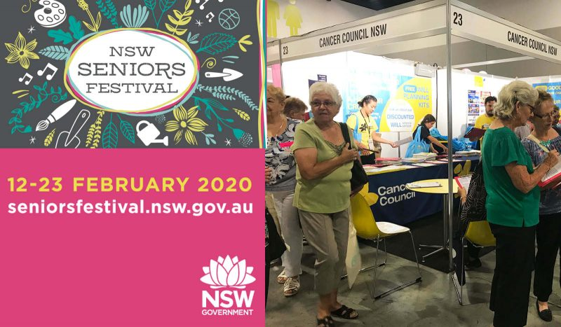 Go55s at the NSW Seniors Expo
